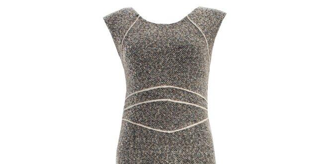 Dámské šedé šaty bez rukávů JDC London