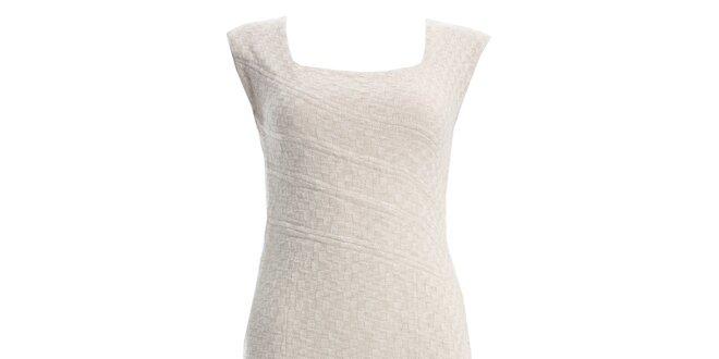 Dámské krémové šaty JDC London
