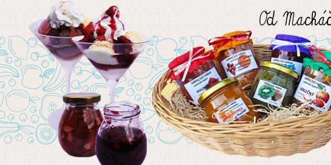 Pečené čaje, ovoce a džemy od Macháčků