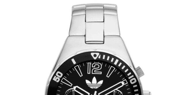 Pánské ocelové hodinky s černým ciferníkem Adidas  4cddff7529