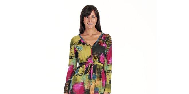 Barevné šaty Peace&Love