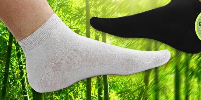 12 párů ponožek s bambusovým vláknem