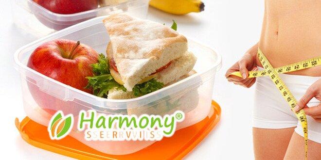 5 či 10 dní s kvalitní krabičkovou dietou Harmony Servis