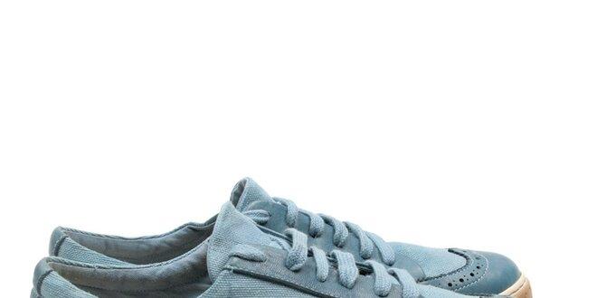 Pánské modrotyrkysové tenisky Armand Basi