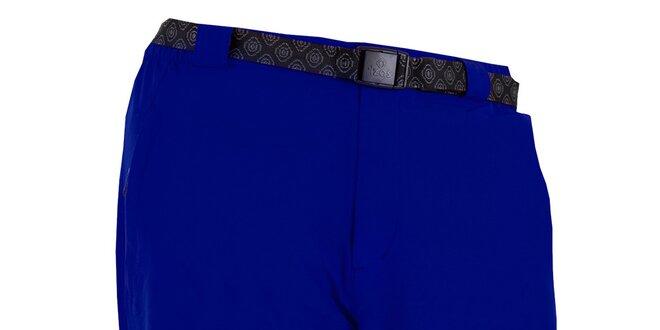 Pánské modré kraťasy s páskem Izas