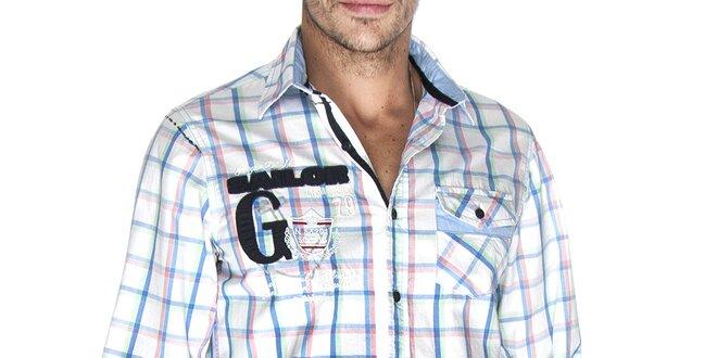Pánská kostkovaná košile Giorgio di Mare  ed882f53bb