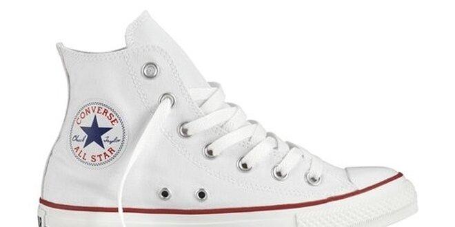 Bílé kotníkové tenisky Converse  a880358e40d