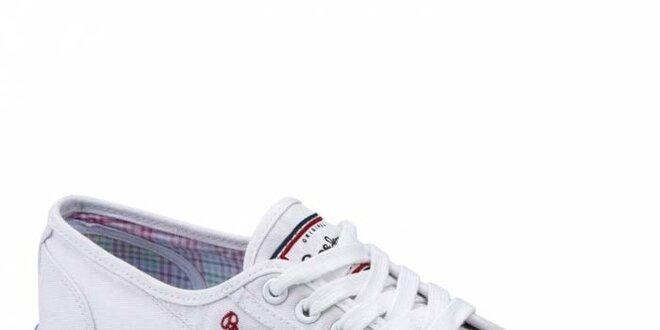Dámské bílé tenisky Pepe Jeans  b270d28284