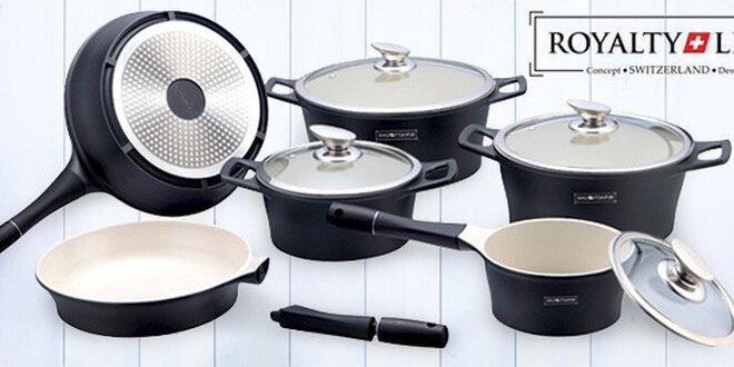 10dílná sada profi nádobí s keramickým povrchem