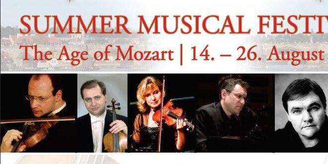 Vstupenky na Mezinárodní Hudební Akademie a Letní Hudební Festival! Age of…