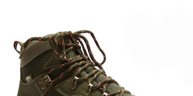 Pánské antracitové kotníkové trekové boty Numero Uno