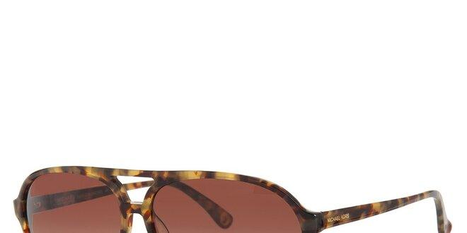 Dámské želvovinové sluneční brýle Michael Kors