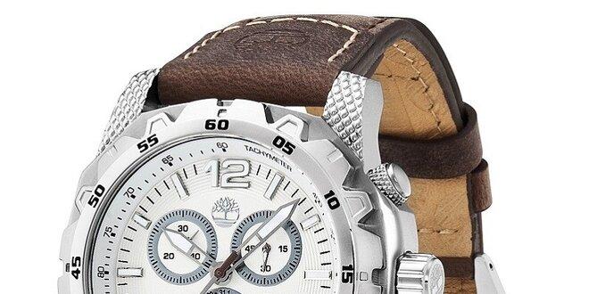 Pánské hodinky Timberland FRONT COUNTRY hnědé  2ea758cf77e