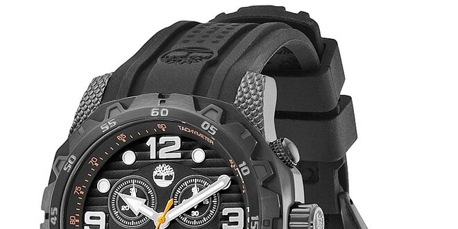 Pánské hodinky Timberland FRONT COUNTRY černé  ea408b872cf