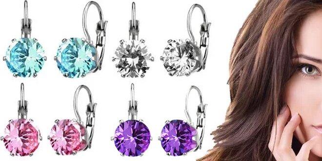 Náušnice s krystalky Swarovski Elements vč. poštovného  452092227e8