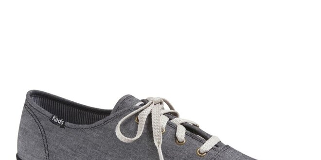 Pánské šedé plátěné tenisky Keds