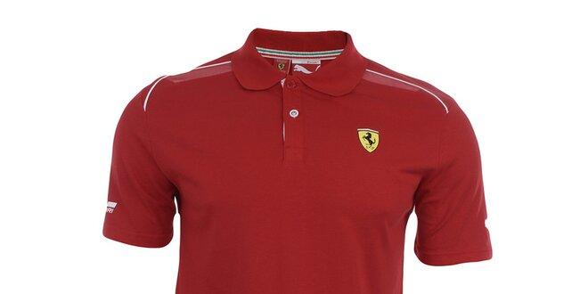 f3e2143becb06 Pánské červené Ferrari polo tričko Puma | Slevomat.cz