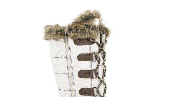 Dámské zimní boty s kožíškem Kimberfeel  12965fe23c
