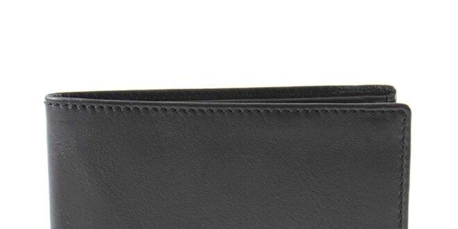 Pánská kožená peněženka v černém provedení Timberland