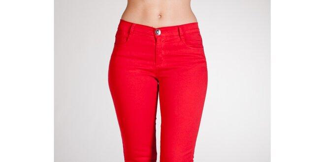 c34483b68a0 Dámské červené kalhoty Stix