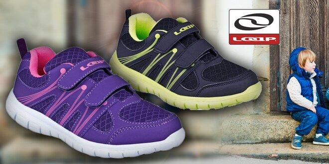 Dětské boty LOAP Claam se zapínáním na suchý zip  a20a0b05a6