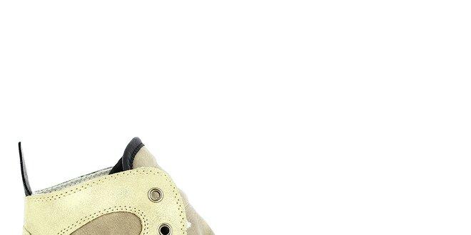 Dámské kotníkové tenisky s třpytivými prvky Shoes and the City