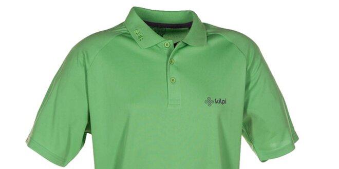 Pánské zelené funkční polo tričko Kilpi