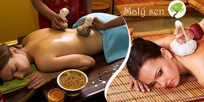 relaxační masáž malý