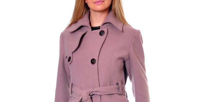 Dámský růžový kabát Daka  01bc2900475