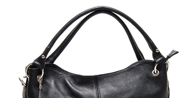 Dámská černá kabelka se dvěma uchy Roberta Minelli