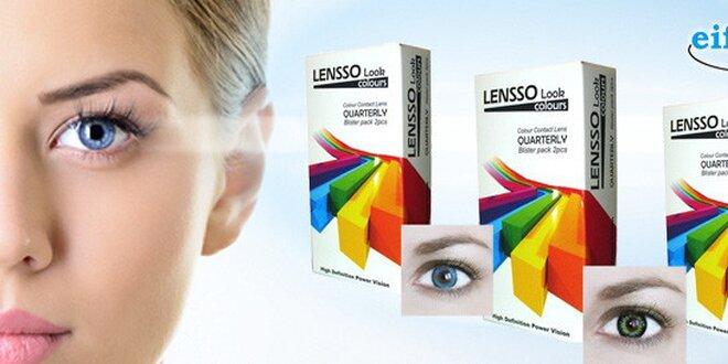 3měsíční barevné kontaktní čočky z eiffel optic