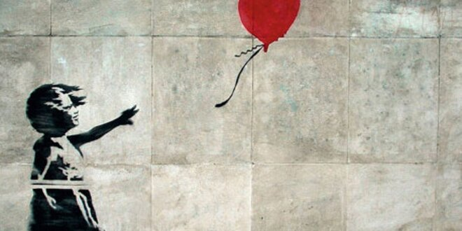 Holčička s balónkem