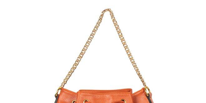 Dámská oranžová kabelka/batůžek Giorgio di Mare