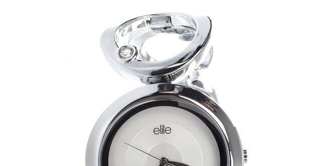 Dámské elegantní hodinky z nerezové oceli Elite  e5cdf028ab