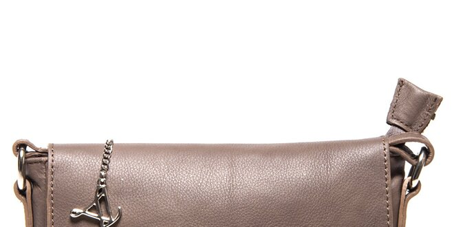 Dámská kožená aktovka přes rameno Luisa Vannini