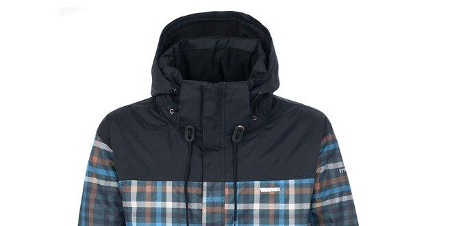 Pánská lyžařská bunda s kostkovaným vzorem Trespass