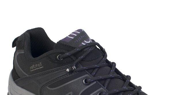 9dce106868f Dámské černé softshellové boty Trespass