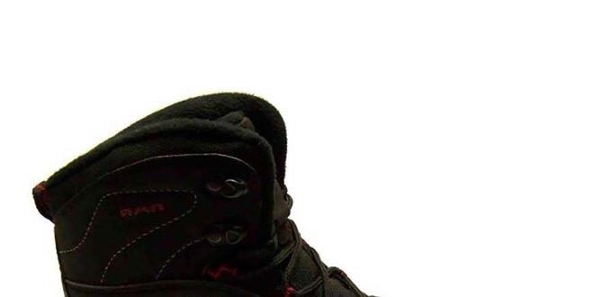 Pánské černé zimní trekové boty Numero Uno  0fcfd6ba79