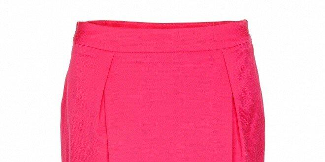 Dámská růžová pouzdrová sukně Pietro Filipi