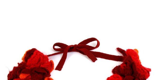 Dámský červený zavazovací nákrčník Ian Mosh