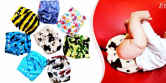 Komfortní látkové eco-plenky AIO pro vaše mimčo - s atestem