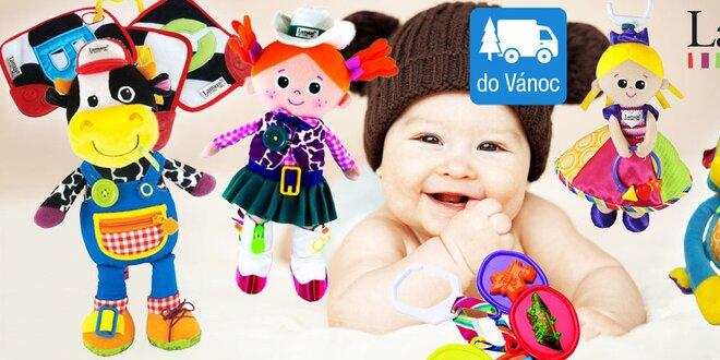 Podnětné hračky Lamaze pro zdravý rozvoj miminka