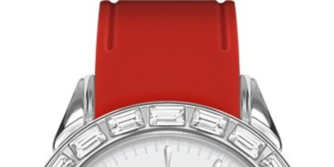 RFS dámské hodinky Love červené P910302-12R3S  a7074503dc5