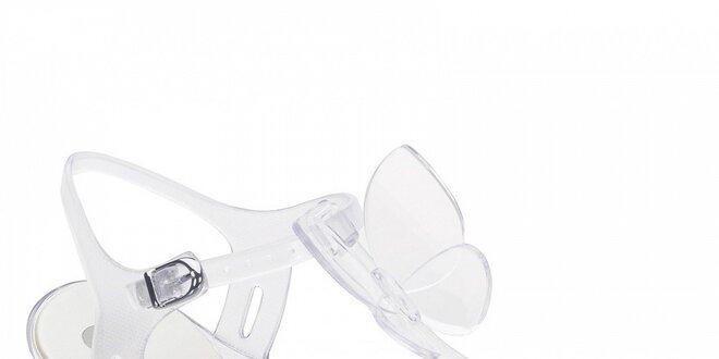 Transparentní sandály Mel