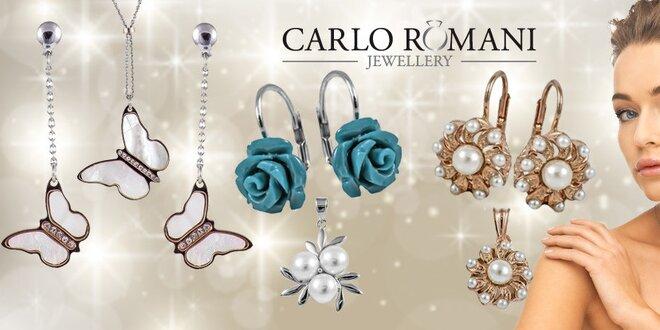 3fac6cb78 Nádherné stříbrné náušnice, náhrdelníky a další šperky | Slevomat.cz