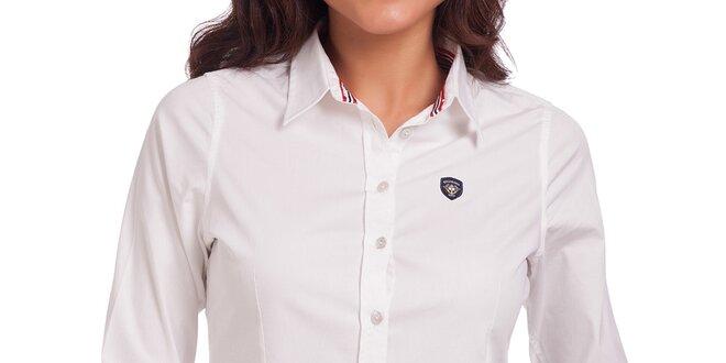 Dámská bílá košile s dlouhým rukávem Galvanni  e4be6eafd6