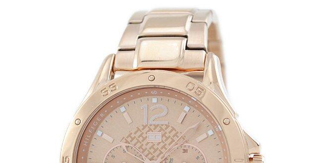 a1a26794e Dámské jemně růžové ocelové hodinky Tommy Hilfiger   Slevomat.cz