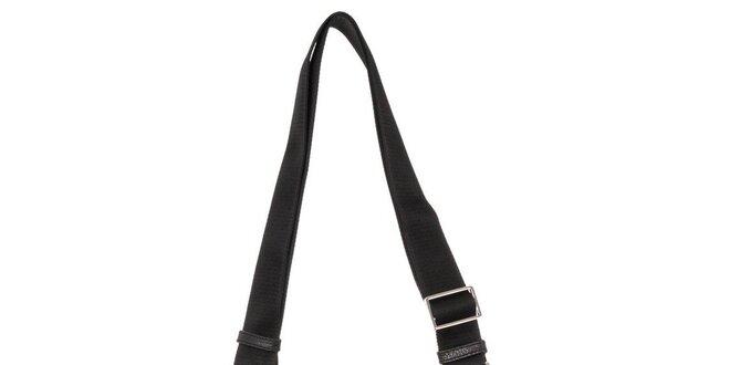 Pánská černá kabela přes rameno Calvin Klein