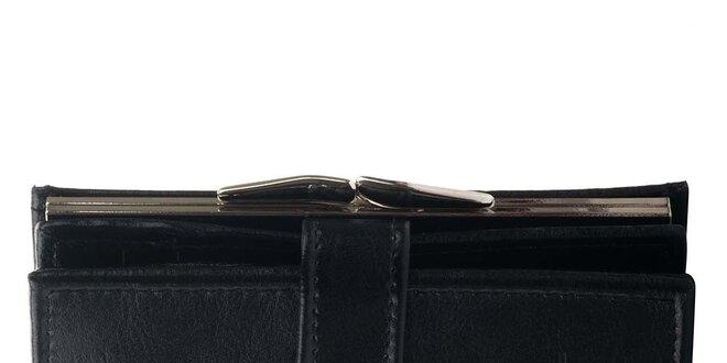 Dámská kožená peněženka Felice - černá