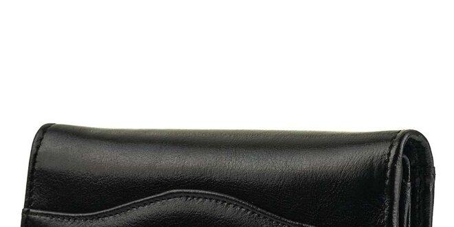 Dámská černá obdélníková peněženka Felice